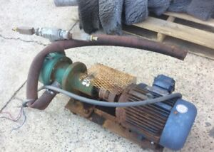Myers Centrifugal Pump 12c 20 And 7 5 Hp 3phase Electric Motor