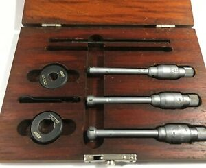 Brown Sharpe 599 282 Intrimik Internal Micrometer Set 275 500 Range