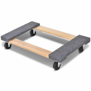 30 18 Furniture Dolly Moving Carrier Mover Handle Casters 1000lbs Capacity