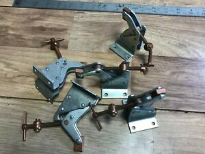 Lot Of 5 New Kant Twist Clamps Work Holding 2f