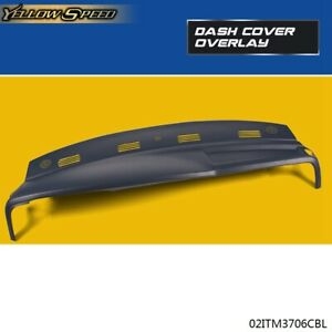 Molded Plastic Dash Cover Overlay For 2002 2005 Dodge Ram 1500 2500 3500