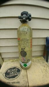 Scott 4500psi 30min Carbon Scba Air Pak Bottle Cylinder Breathing Tank Mfr 1999