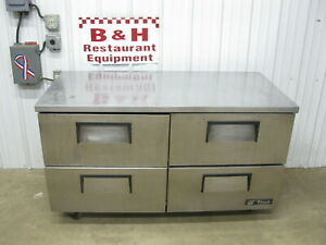 True 60 4 Drawer Work Top 5 Stainless Under Counter Refrigerator Tuc 60d 4