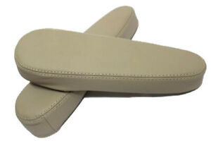 Fits 11 17 Nissan Quest Beige Real Leather Seat Armrest Covers Set