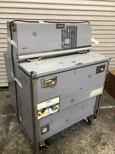 New 34 Milk Box Crate Cooler Bulk Portable Traulsen Rmc34s6 Forced Air 2606 Nsf