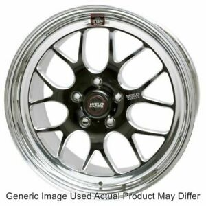 Weld Racing 77mb8100b77a Rt S S77 Forged Black Anodized Wheel 18 X10 Size Each