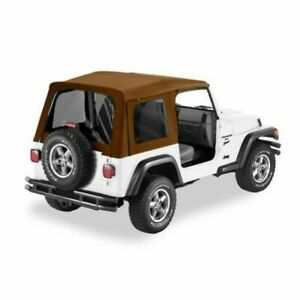Bestop 54709 37 Supertop Replacement Soft Top Spice For 1997 2006 Jeep Wrangler