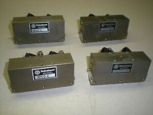Lot Of 4 Robohand Rplc 2 Parallel Gripper Heads With Dual Flow Controls