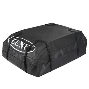 15 Cubic Rooftop Cargo Carrier Bag 100 Waterproof All Weather Vehicle W Straps