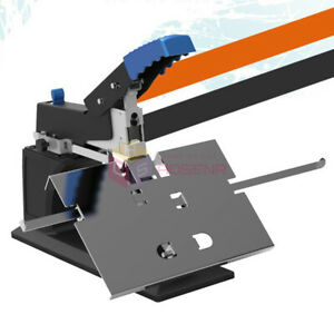 Desktop A3 Manual Saddle Stapler Bookbinding Machine Flat Binding Stitcher