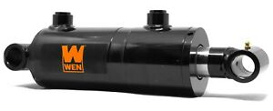 Wen Wt3008 Cross Tube Hydraulic Cylinder With 3 inch Bore And 8 inch Stroke