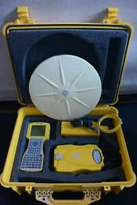 Trimble Gps Receiver 5700 P n 40406 42 410 430 Mhz With Zephyr Antenna
