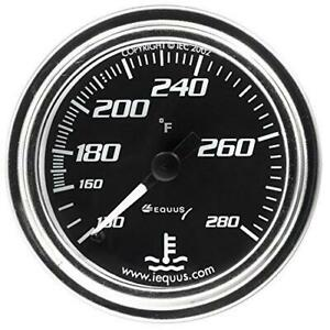 Equus 2 Chrome Mechanical Water Temperature Gauge Kit 270 7242