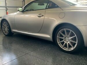 Wheels For 18 Inch Lexus Sc430 Rims Niche Silver With Machined Face
