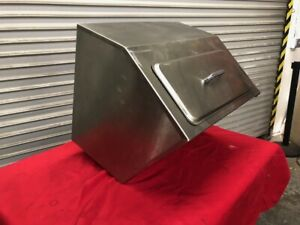 Ice Bin Lid Insulated Counter Top Stainless Steel Delfield 240 2673