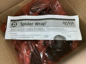 25 Alpha 2 Alarm Attack Spider Wrap Retail Security Tags Sp1310 New In Box