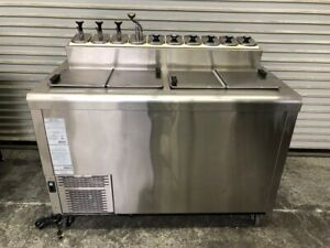 Ice Cream Dipping Cabinet Freezer Topping Pump Station Nelson Bdf 8 sesi 2708