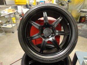 Dinan 19 Billet Wheels For Bmw Autos With Yokohama Tires Free Shipping