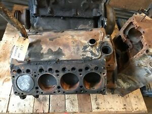 1955 Chrysler 331 Hemi Engine Ce555569 Mostly Complete No Heads Intake Etc