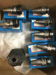 Bt30 Er25 And Er16 Tool Holders All 8 Pcs For This Sale As 1 Buy