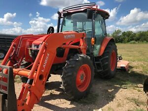 Kubota 2016 M5 111 Hdc12 Loader Tractor 212 Hours With Attachments