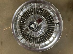 1963 1964 Buick Riviera Special 15 Wire Spoked Spinner Wheel Cover Hub Cap 3