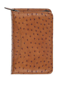 Scully Leather Zip Weekly Organizer Antique Brown 8002z 0 50 f
