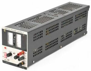Kepco Jqe 36 3 036v 0 34amps 1 4 Rack Precision Stabilized Power Supply