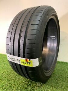 255 40 18 95y Used Tire Michelin Pilot Super Sport 68 6 8 32nds W599
