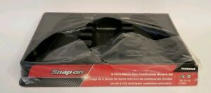 Snap On Empty Box For 6 Piece Metric Flex Combination Wrench Set Fhom606b
