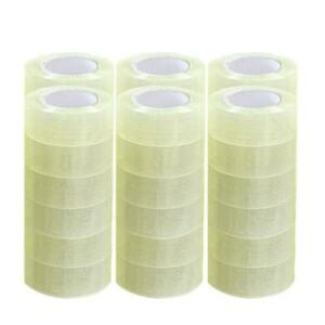 36 Roll Clear Carton Sealing Packing Shipping Tape 2 Mil 1 9 110 Yard 330 Ft