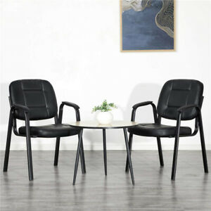 2pcs Home Office Executive Conference Chair Waiting Room Guest Reception Chair