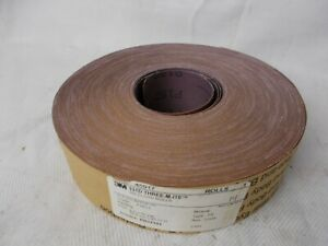 Sandpaper Roll Cloth 3m 331d 2 In X 50 Yards P180 Grit 1 Roll