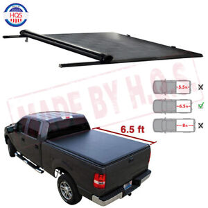 6 5 Soft Bed Roll Up Tonneau Cover For 1999 16 Ford F250 F350 Super Duty Pickup