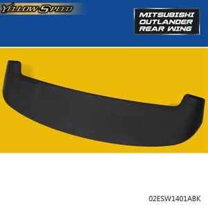 For Mitsubishi Outlander 2013 2018 Rear Trunk Spoiler Wing Unpainted