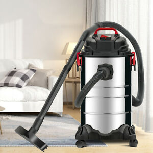 8 Gallon 4 in 1 Wet Dry Portable Vacuum Cleaner Vac Shop 3 5 Hp Stainless Steel