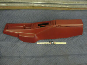 Oem 75 Chevy Monte Carlo Automatic Floor Shift Center Console Red
