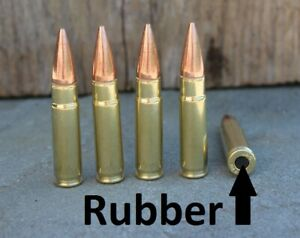 RUBBER cushion Dummy Rounds     300 Blackout       snap caps x 5 $16.00