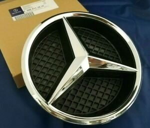 2 Fit Mercedes Front Grille Star Emblem Logo Grill Badge A200 B250 C180 Cl550