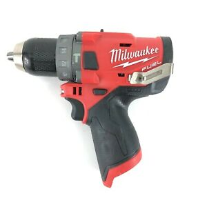 Milwaukee M12 Fuel Brushless 2504 20 1 2 In Hammer Drill Bare Tool Only