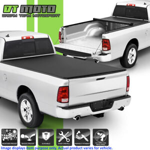 Roll Up Tonneau Cover For 2002 2008 Dodge Ram 1500 03 09 2500 3500 8ft 96 Bed