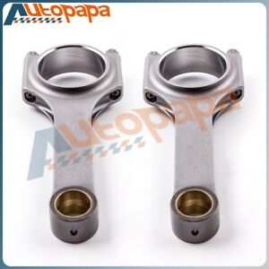 Forged Connecting Rods Set Fit For Fiat 500 Old Model 2 Cylinder 120mm Conrods