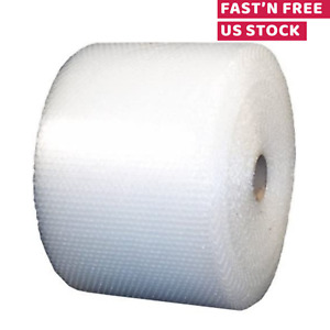 Small Bubble Wrap Cushioning Shipping Roll Perforated Every 12 X 700ft 3 16