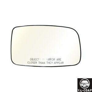 New Right Passenger Side Door Mirror Plate For Mitsubishi Lancer Mr574588