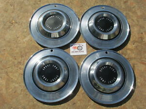 1962 1963 Plymouth Sport Fury 15 Wheel Covers Hubcaps Set Of 4
