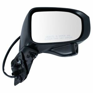 Mirror Power Non heated Side View Camera Paint To Match Rh Side For Honda Civic