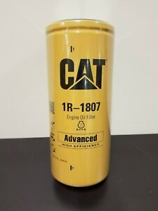 Genuine Caterpillar Cat 1r 1807 Advanced High Efficiency Oil Filter New Sealed