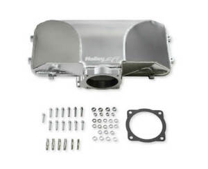 Holley 300 280 Hi Ram Fabricated Side Mount Plenum Top Fits Ford 5 0 955 Mm Tb