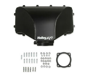 Holley 300 281 Hi Ram Fabricated Side Mount Plenum Top Fits Ford 5 0l 95mm Tb