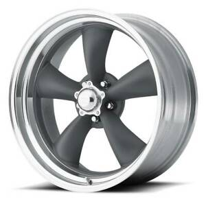 20x10 American Racing Classic Torq Thrust Ii 5x139 7 Et6gray Rims set 4